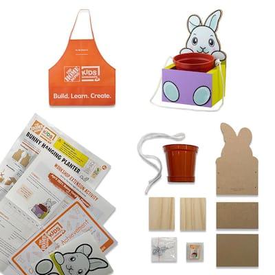 Bunny Hanging Planter Kit Pack