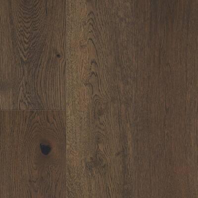 Khaki Brown Oak 6.5 mm T x 6.5in. W x 48in. Varying L. Waterproof Engineered Click Hardwood Flooring (21.67 sq.ft./case)