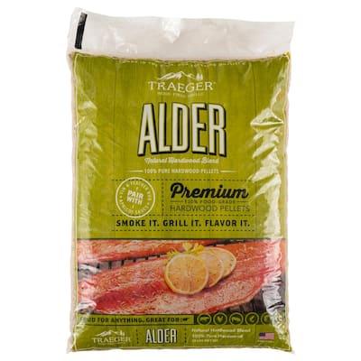 20 lb. Alder Wood Pellets