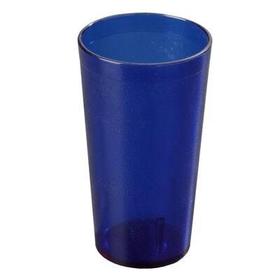 12 oz. SAN Plastic Stackable Tumbler in Royal Blue (Case of 72)
