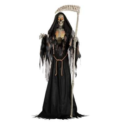 7 ft ANIMATED LED Inferno Reaper