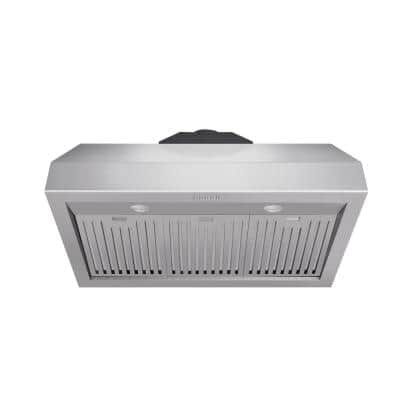 36 in. Tall Undercabinet Range Hood with Light in Stainless Steel