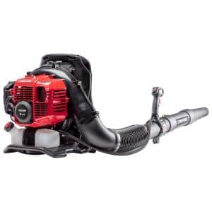 220 MPH 600 CFM 51 cc Full Crank 2-Cycle Gas Backpack Leaf Blower with Tube Mounted Controls