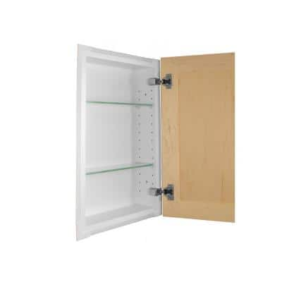 Silverton 14 in. x 22 in. x 4 in. Recessed Medicine Cabinet in Unfinished