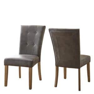 Debby Grey Side Chair (Set of 2)