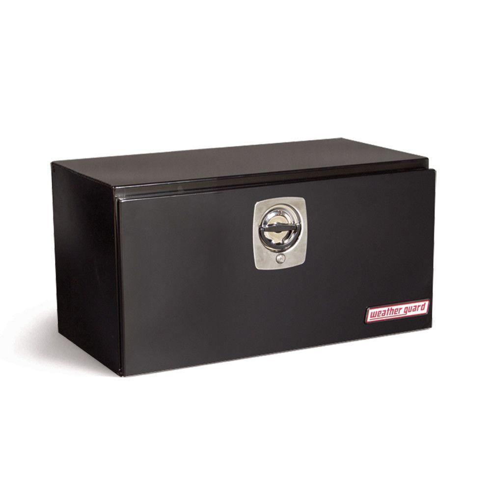 30.13 Gloss Black Steel Underbody Truck Tool Box