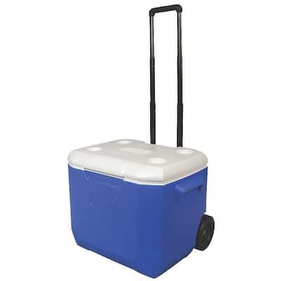 60 Qt. Blue Wheeled Performance Cooler