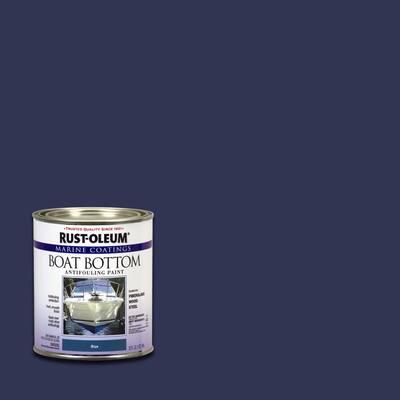 1 qt. Flat Blue Boat Bottom Antifouling Paint (4-Pack)