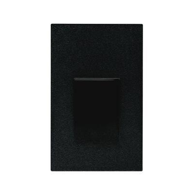 3.5-Watt Black LED Step Light