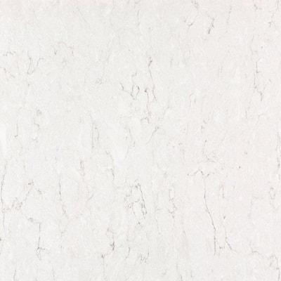 2 in. x 4 in. Quartz Countertop Sample in Snowy Ibiza