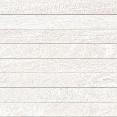 Sahara White 13 in. x 25 in. Glazed Porcelain Wall Tile (10.76 sq. ft. / case)