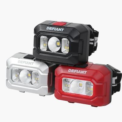 100 Lumens LED Headlight Combo (3-Pack)