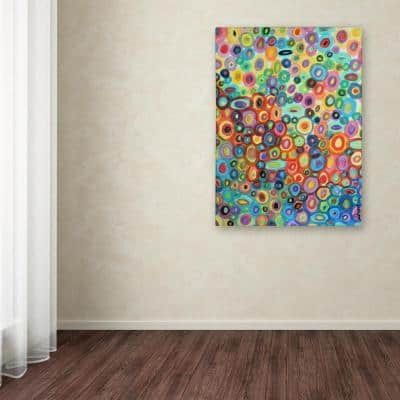 """47 in. x 35 in. """"First Love"""" by Sylvie Demers Printed Canvas Wall Art"""