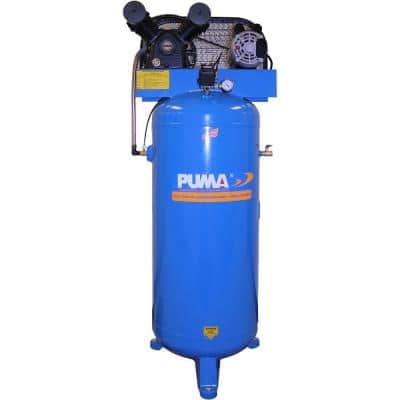 60 Gal. 3 HP Electric Single Stage Air Compressor