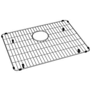 Elkay Crosstown 19 375 In X 14 125 In Bottom Grid For Kitchen Sink In Stainless Steel Ctxobg1914 The Home Depot