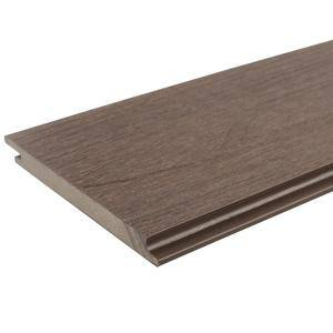 All Weather System 5.5 in. x 192 in. Composite Siding in Spanish Walnut (14-Piece)