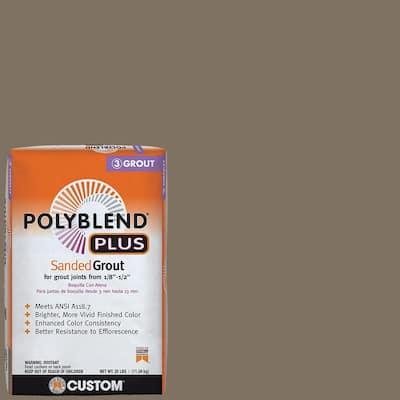 Polyblend Plus #544 Rolling Fog 25 lb. Sanded Grout