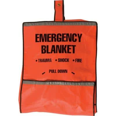 Emergency Fire Blanket and Pouch