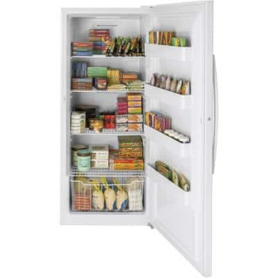 Garage Ready 21.3 cu. ft. Frost Free Upright Freezer in White