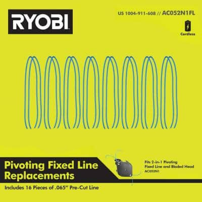 Replacement Fixed Line for 2-in-1 String Head