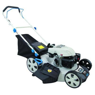 21 in. 173 cc Gas Recoil Start Walk Behind Push Mower with 7 Position Height Adjustment
