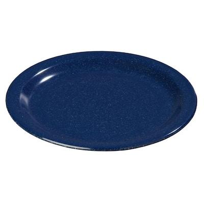 9 in. Diameter Melamine Dinner Plate in Cafe Blue (Case of 48)