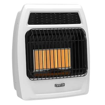 18,000 BTU Vent Free Infrared Liquid Propane Thermostatic Wall Heater