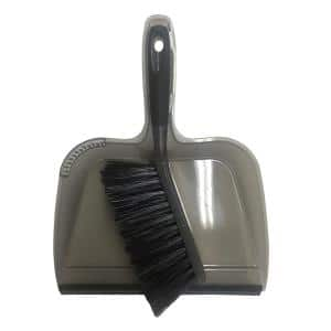 10 in. Dustpan and Brush Set