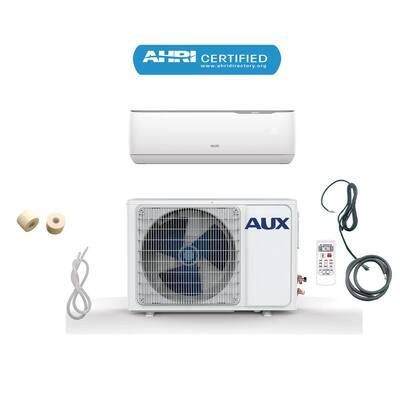 12,000 BTU Ductless Mini Split Air Conditioner with Heat Pump 17 SEER 115-Volt 1 Ton, 12 ft. Line Set, Wall Mount