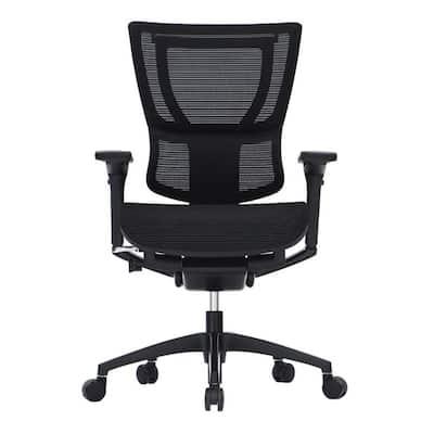 Zabrina Black Mesh Tilt Tension Control Chair
