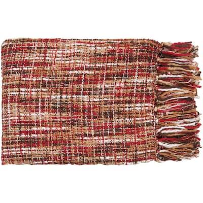 Vernier Cherry Throw Blanket