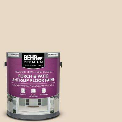 1 gal. #ECC-51-2 Sand Castle Textured Low-Lustre Enamel Interior/Exterior Porch and Patio Anti-Slip Floor Paint
