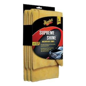 Supreme Shine Microfiber Towel (3-Pack)