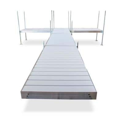 24 ft. T-Style Aluminum Frame with Aluminum Decking Platinum Series Complete Dock Package