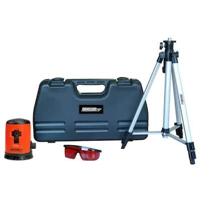 Self-Leveling Cross-Line Laser Level Kit