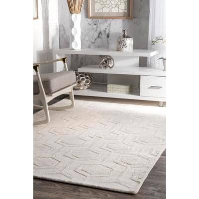 Nuloom Geometric 10 X 14 Area Rugs Rugs The Home Depot