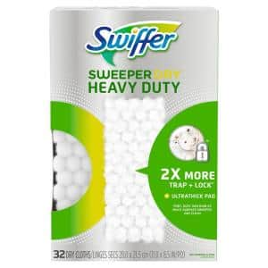 Sweeper Heavy-Duty Dry Sweeping Cloths (32-Count)
