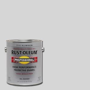 1 gal. High Performance Protective Enamel Gloss Aluminum Oil-Based Interior/Exterior Paint
