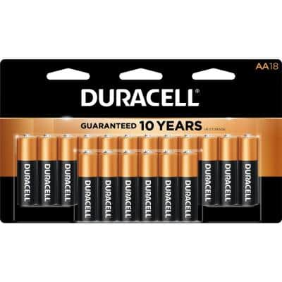 Coppertop Alkaline AA and AAA Battery (36-Pack)