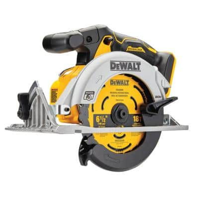 20-Volt MAX Cordless Brushless 6-1/2 in. Circular Saw (Tool-Only)
