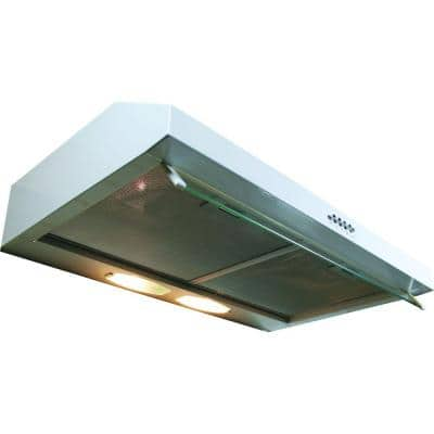 Builder Series 30 in. Under Cabinet Hood with 300 CFM in White