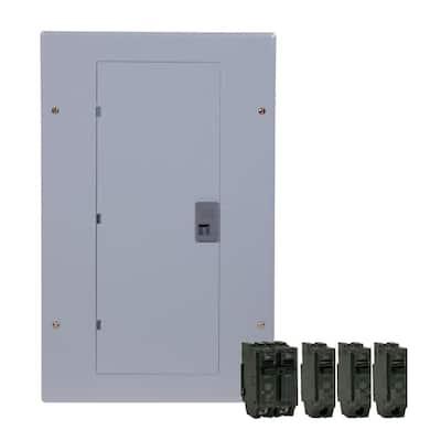 100 Amp 20-Space 20-Circuit Main Breaker Indoor Load Center Contractor Kit