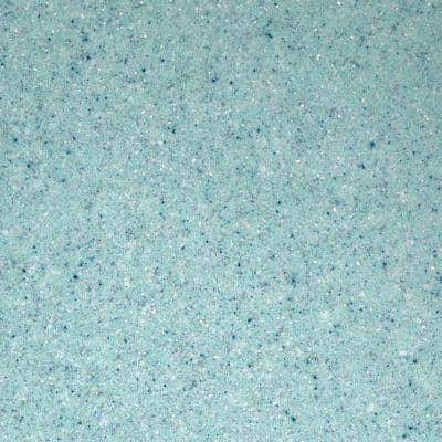 4 in. Solid Surface Technology Vanity Top Sample in Waterfall