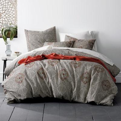 Margate Cotton Blend Full Duvet Cover