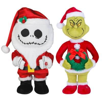 12.99 in Jack Skellington & 12.6 in Grinch Small Side Steppers