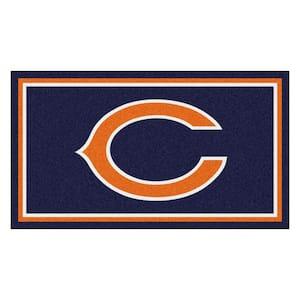 NFL - Chicago Bears 3 ft. x 5 ft. Ultra Plush Area Rug