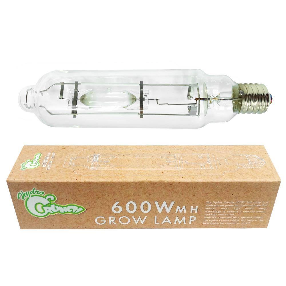 Hydro Crunch 600 Watt Metal Halide Mh High Intensity Discharge Hid Grow Light Bulb D911009700 The Home Depot