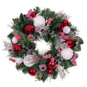 24 in. Nordic Wreath