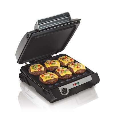 3-in-1 Black Multi Grill