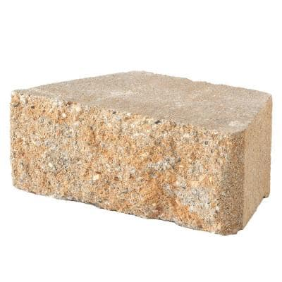 3 in. x 10 in. x 6 in. Rivertown Concrete Retaining Wall Block (280-Pieces/58.4 sq. ft./Pallet)